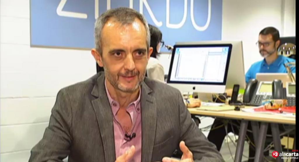 Pepe Tomé entrevistado en TV3